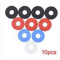 10Pieces Guitar Savers Strap Lock 25mm OD9mm Musical Accessory Black Red BlueFYR