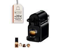 Cafetera de cápsulas - Nespresso De Longhi INISSIA EN80B, Presión de 19b, 1260W