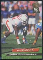 1992 Fleer Ultra Football Card #445 Bob Whitfield RC