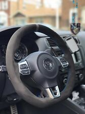 VW GOLF GTI MK6 suede steering wheel cover wrap