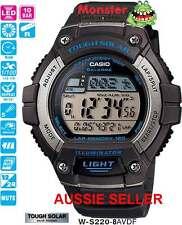 AUSSIE SELLER CASIO WATCH W-S220H-8AV WS220 W-S220H SOLAR 12-MONTH WARRANTY