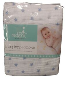 Aden + Anais Dusty Stars Changing Pad Cover New NIP