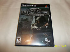 Airborne Troops: Countdown to D-Day (Sony PlayStation 2, 2005)(Complete)