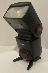 Sony Alpha HVL F42AM Shoe Mount Flash for  Sony With Case