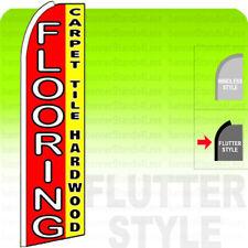 Flooring Carpet Tile Hardwood Swooper Flag Sign 115 Tall Flutter Style Rq
