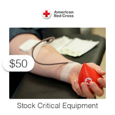 $50 Charitable Donation For: Stock Critical Equipment