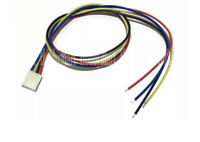 2510 2.54mm 4Pin Pitch Female Connector 22AWG 40cm Lead wire for PWM CPU Fan x 5
