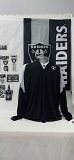 NFL Team Apparel Las Vegas Raiders Pullover Jacket