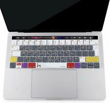 MacBook Pro Keyboard Cover Compatible Silicon Protection Touch 13-15 Inch Folio