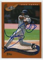 2002 Topps Jeffrey Hammonds #233 Signed IP Auto