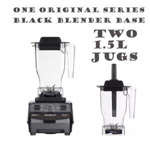 JTC OmniBlend 1 One Original Blender + 2 Jugs Ice Crusher Smoothie Milkshake Bar