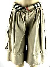 Burberry Pleated Cargo style shorts Size US. 4 /U K6/ ITA.38
