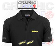2x Nikon ferro sui logo abbigliamento Decalcomanie
