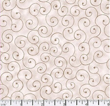 Quilting fabric Tilt a Whirl Natural 100% Cotton BY THE YARD!!!