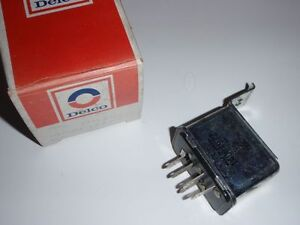 NOS GM DELCO AC COMPRESSOR CUTOFF RELAY 1982 - 1987 Pontiac T1000 NEW 14004972