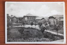 cartolina MILANO università medicina veterinaria  viaggiata 1935 RARA