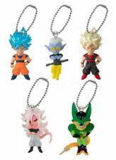 BANDAI Dragon ball UDM BURST 36 Mascot Keychain Complete set 5pcs Figure PVC