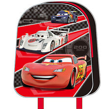"New Disney Cars Mcqueen Mini 10""School Bag Backpack School Gift Official License"
