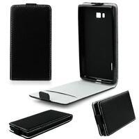 SLIM FLEXI Flip Tasche Case Klapp Hülle Fliptasche für Sony Xperia L2 - Schwarz