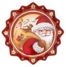Villeroy & Boch Toys Fantasy Gebäckteller tief  Santas Geschenke  Ø 39 cm 2272