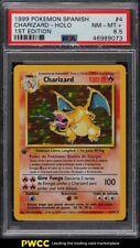 1999 Pokemon Spanish 1st Edition Holo Charizard #4 PSA 8.5 NM-MT+
