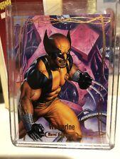 2016 Marvel Masterpieces ORANGE #89 WOLVERINE /99 - Tier 4 Combo Ship VHTF NM