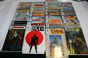 Valiant Comics Lot - Bloodshot, Turok, Magnus, Rai and Others