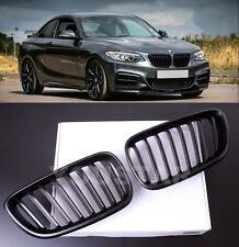 FAST EMS X2 MATT BLACK GRILLS for BMW 2 SERIES F22 F23 F87 M235I M2 TAX FREE