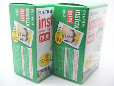 2 x FUJI INSTAX MINI FILM 20 Pack For 7 8 9 25 50 70 90 By 1st CLASS ROYAL MAIL