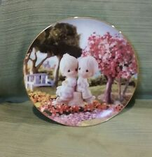 "Precious Moments ""Love One Another"" Limited Edition Plate 1993 Mint"