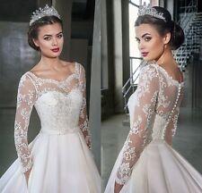 Elegant Custom Lace Wedding Jackets White Ivory Bridal Boleros Wraps New Button