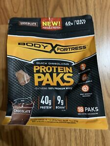New Body Fortress Protein Paks, Chocolate