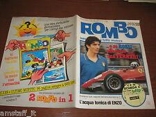 RIVISTA ROMBO 1982/28=PAOLO ROSSI=FERRARI PIRONI=RALLY MILLE PISTE=