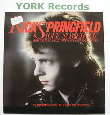"RICK SPRINGFIELD - Love Somebody - Excellent Condition 7"" Single RCA RICK 3"