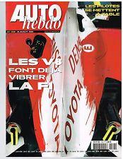 A26- Auto Hebdo N°1508 Les V8 Font deja vibrer la F1