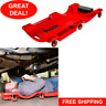 Under Car Mechanic Trolley Shop Creeper Headrest Heavy Duty Roller Low Profile