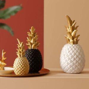 1pcs S/M/L Pineapple Creative Home Decoration Piggy Bank Luxury Nordic Modern