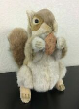 """Hansa Portraits of Nature, 10"""" Red Squirrel Plush"""