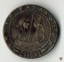 Niederländisch Ostindien, 1 Gulden, 1802, KM 83, sehr schön+