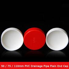 75//110//160 mm PVC Pipe End Rainproof Cap Fittings Umbrella Cover Ventilation Cap