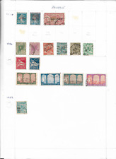 EL235] ALGERIA 3 x album pages of stamps mixed condition unchecked
