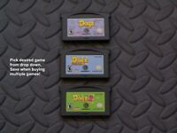 Nintendo GameBoy Advance GBA Game Cartridge Only - Dogz Series