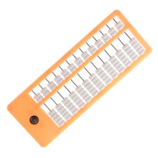 Plastic Chinese Beads Abacus Soroban Calculating Tool Kids Educational Toy