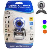 Webcam Hd 16 Megapixel Universale Pc Camera Computer Web Cam Microfono Usb 3143