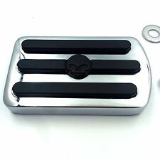 Brake Pedal Pad Cover For HARLEY ELECTRA STREET GLIDE TOURING 96-13