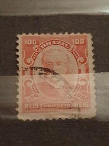 Brazil 1916 100r Used V110