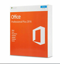 MS Office Pro Plus 2016 - Genuine License 1 PC Install wish