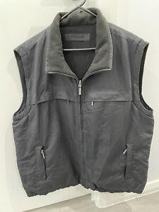 Duchamp Mens Fleece Lined Reversible Vest Gilet Size XXL