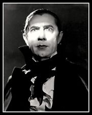 "4.5"" Bela Lugosi DRACULA vinyl sticker. Vampire movie monster decal for laptop."