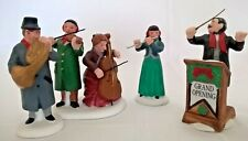 Department 56 Heritage Village Collection Chamber Orchestra Set of 4 #55840